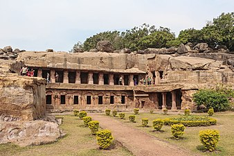 Udayagiri and Khandagiri caves in Odisha