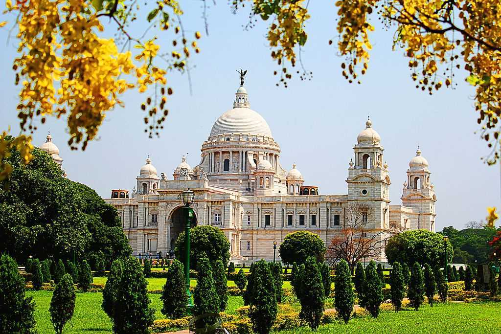 Victoria Memorial in Kolkata West Bengal