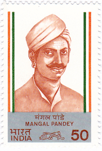 Stamp of Mangal Pandey