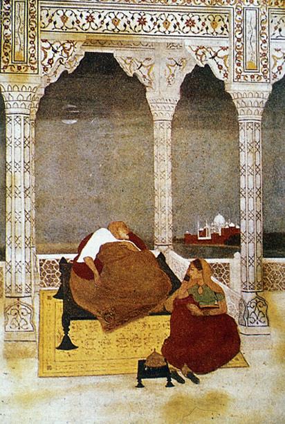 Painting of Abanindranath Tagore