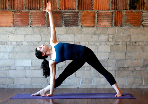 Position of Trikonasana