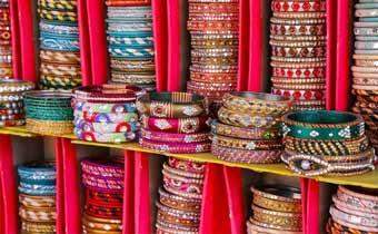 Famous bangle shops in Jaipur