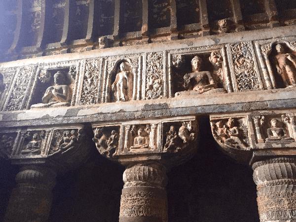 Ajanta cave architecture
