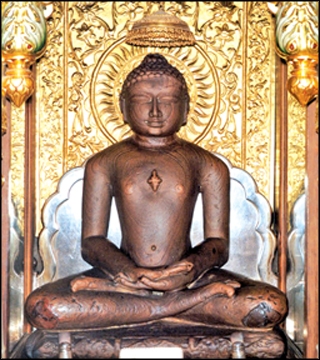 The 24th Thirtankara in Jainism
