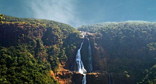 Waterfalls at Nilgiri Biosphere Reserve