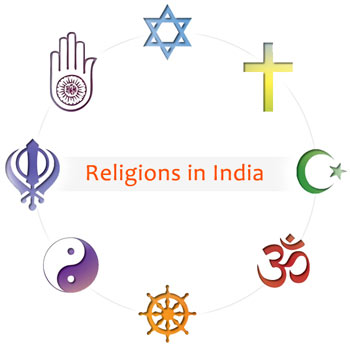 Symbols of different religions